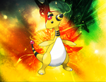 Ampharos tribute 2 by malta700