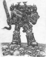 Chaos Marine by Thenari