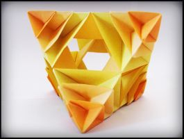 Scaled octahedron by MadalinaM