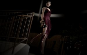 Ada Wong by Rastifan