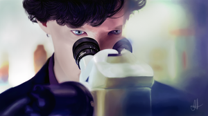 BBC Sherlock - A Man of Science by momentovitae