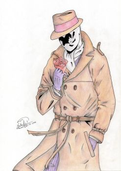 Rorschach by Dino-drawer