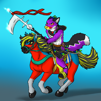 Phantom and Gallop (by Aggro_Badger) by Eric4372