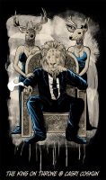 The King On Throne by cagris