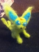 Shiny espeon needle felt by stellarbuck