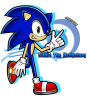 SA:Sonic the Hedgehog by Rock-Hog