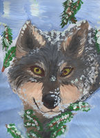 Winter wolf by Takas15