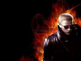 Wesker is my idol by monkeygigabuster