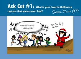CCC- Ask Cat 1 by xCarnationFox