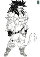 Bane ssj4 sc2 by bloodsplach