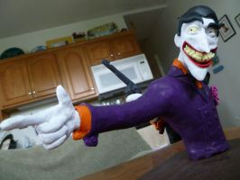Joker Sculpture by Foredaddy