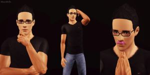 Markiplier- Sims 3 by missxmello