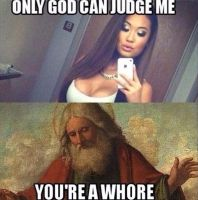 Only god can judge me by AC-MONEY