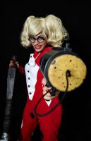 PJ Party Harley Quinn - You're in trouble now by Enasni-V
