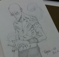 BCC 2010 Spider Jerusalem by RyanOttley