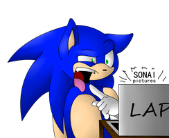 Sonic's real and correct reaction to SONAI by SapphiresFlame