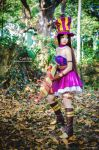 League of Legend, Caitlyn the Sheriff of Piltover by fritzfusion