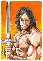 Conan Sketch Card by jamesq