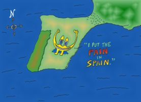 Euroman put the Pain in Spain by optionsclickblogart
