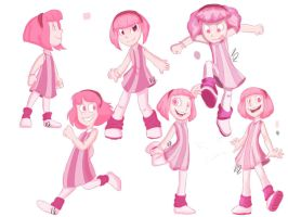 LazyTown - A Plethora of Pink by EnvyQ00