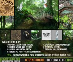 Citizen Tutorial - The Element of Earth by ConceptCookie