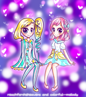 Collab w reachfortheheavens by Colorful--Melody
