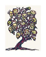 Skull Tree by CliveBarker