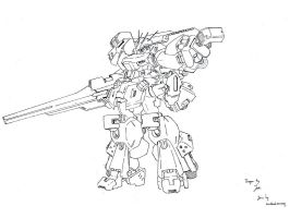 Burst Gundam Concept by dlredscorpion