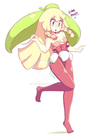 Lillie as Steenee
