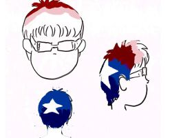 Hair For 4th Of July by KyatifaWolf