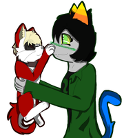Kitty Dave And Nepeta by CollisionXIII