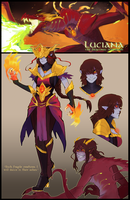 Luciana: The Sorceress by MirChuChu