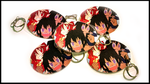 Trio Keychain by Club-of-the-Satyrs