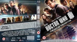 DOCTOR WHO 50th ANNIVERSARY BLU-RAY COVER  W.I.P by MrPacinoHead