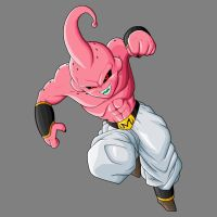 Kid Buu by drozdoo