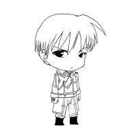 roy mustang: chibi by HylianSword