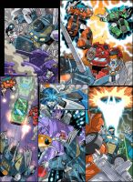 Transformers Generations Comic by GuidoGuidi