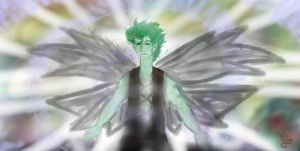 Spike's new Wings by TheSisters2