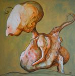 JERBOA - 70x60 canvas ,acryl by broda502