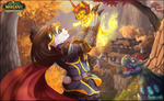 WOW -  Pandaria by AvAmri