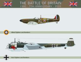 Battle of Britain Calendar by WS-Clave