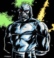 Quick Darkseid sketch by dichiara