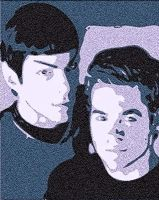 Kirk Spock Reviz by NeonGlo