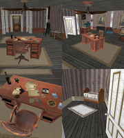 Bioshock Infinite - Booker's office (download) by Mageflower