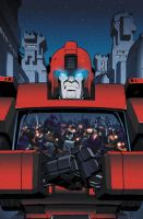 Ironhide 4 cover by khaamar