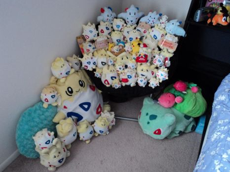 Togepi Plush Collection 3-4-11 by KuraiTsuki
