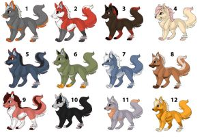 Foxes 3 left FREE by Leland-Adopts