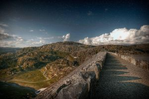 View From A Dam by Mizth