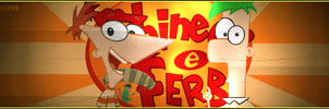 Phineas and Ferb Signature by 7desires
