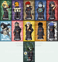Akatsuki Bookmarks for sale by Magestico